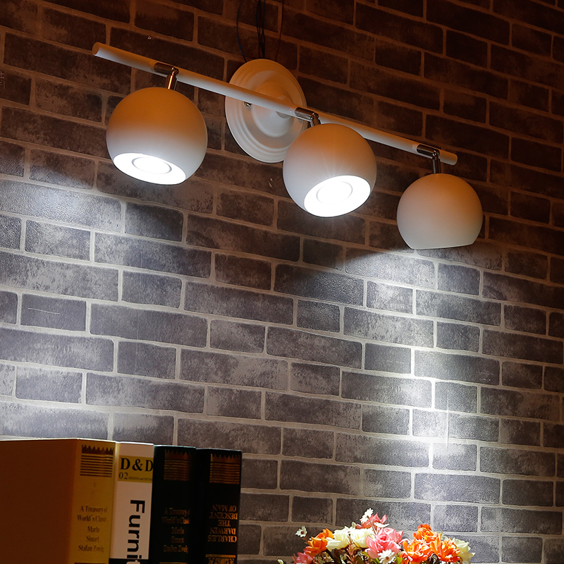 Vintage loft LED ceiling light 1/2/3/4/5 head Industrial Iron ceiling lamp creative coffee bar cloth shop/dinning room lighting