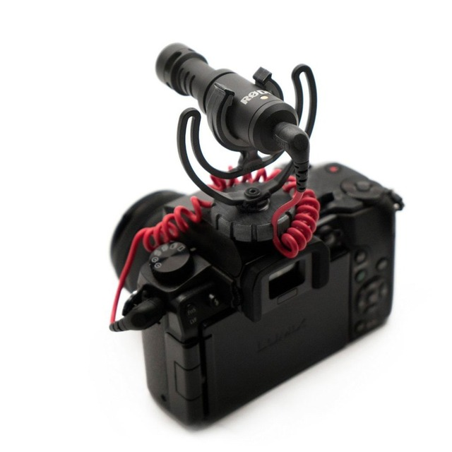 Compact On-Camera Microphone