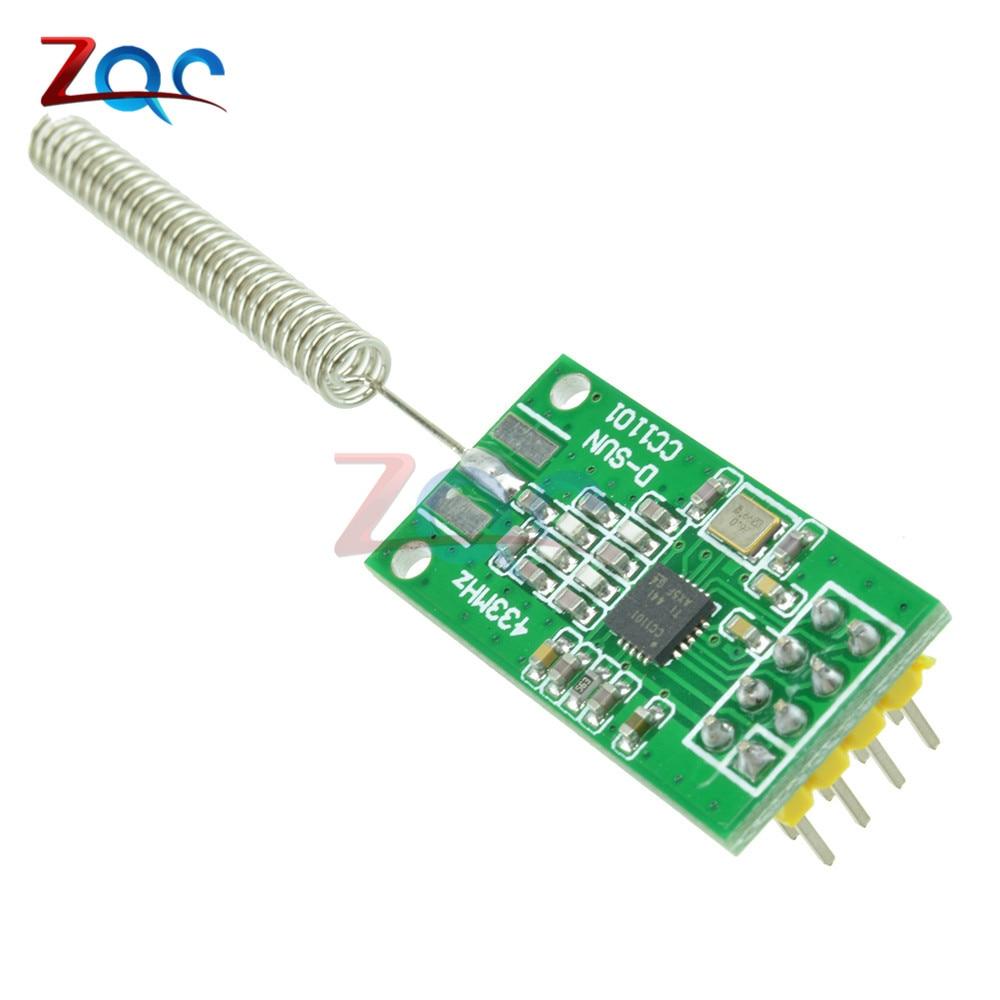 Cc1101 Wireless Transceiver-modul 433 Mt 2500 Nrf 350 Mt Übertragungsstrecken Mit Antenne So Effektiv Wie Eine Fee Werkzeuge