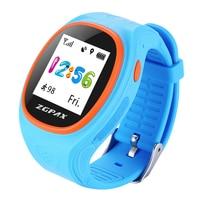 ZGPAX S886 Intelligenti I Bambini GPS Tracking Watch Mobile APP Sync Reale tempo Monitor SOS Chiamate Pedometro GPRS Modalità LBS Per Android IOS.
