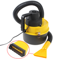 Hot sale! Big discount New Portable 12V Wet & Dry Auto Car Dust Vacuum Cleaner with Brush / Crevice / Nozzle Head