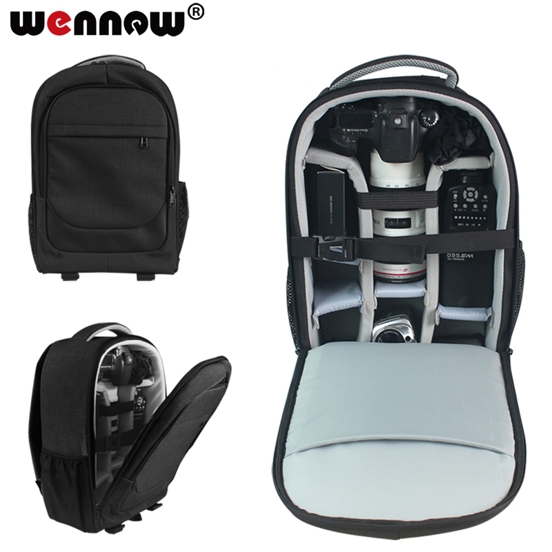 wennew DSLR Bag Camera Backpack Lens Case for Canon EOS 4000D 1500D 1300D 1200D 1100D 1000D