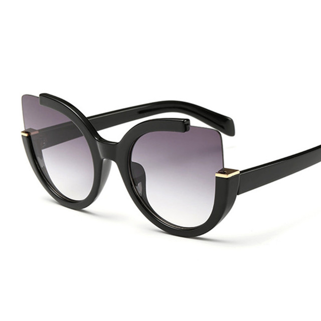 NYWOOH Vintage Sunglasses Women Cat Eye Sun Glasses Womens Brand Designer Mirror Eyewear Ladies Round Frames Eyeglasses UV400