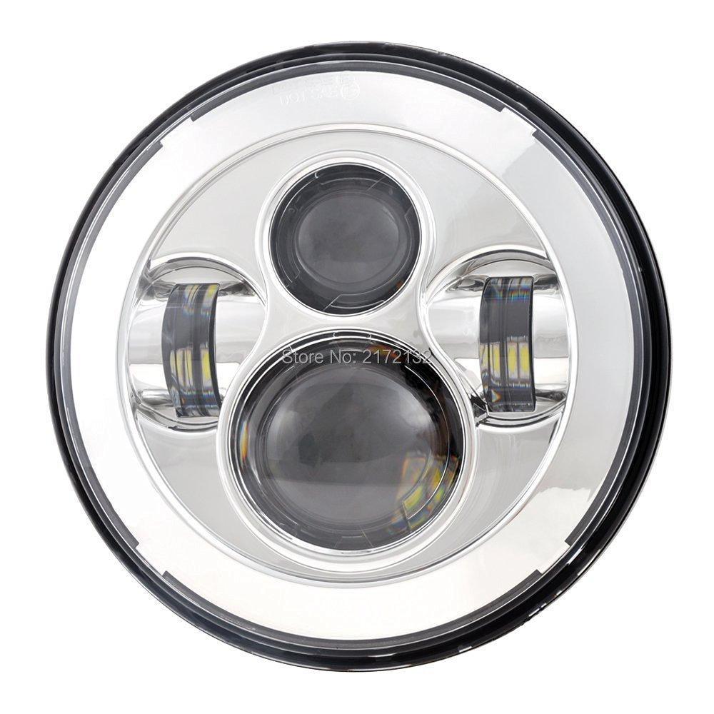 2pcs / σετ 7 ιντσών LED προβολέα και 7 - Φώτα αυτοκινήτων - Φωτογραφία 2