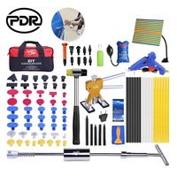 PDR Auto Repair Tool Kit Car Repair Tool Set Dent Removal Reflector Board Dent Puller Slide Hammer Suction Cups For Dent