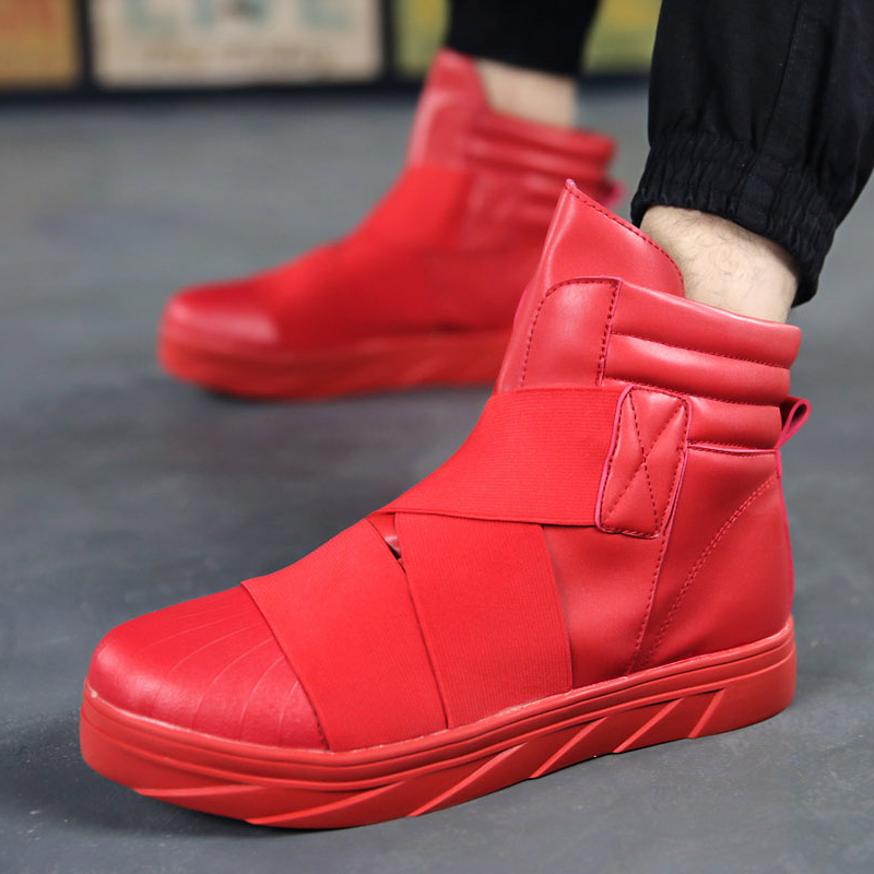 Aliexpress.com : Buy 2015 Red High Top Casual For Men Winter Boots