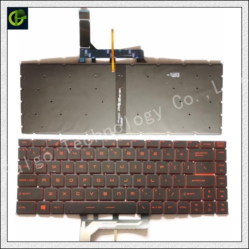New MSI Gaming Steel GE62 GE72 WS60 Keyboard Full Colorful Backlit US