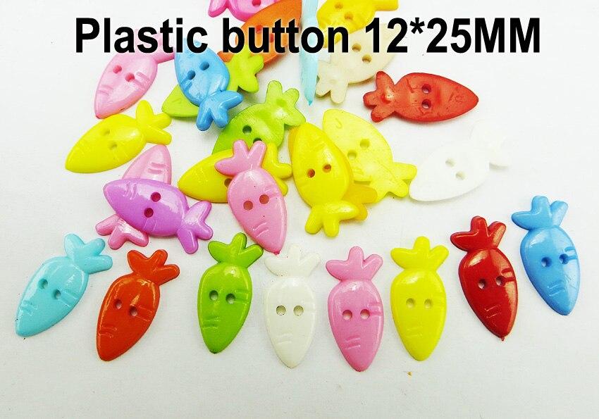 АКЦИЯ 100 шт смешанные формы много цветов Сделай Сам Скрапбукинг Мультяшные кнопки пластиковые кнопки детская одежда швейные принадлежности P-001 - Цвет: 19