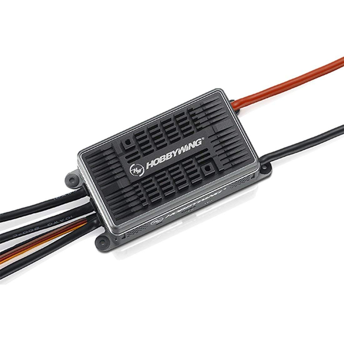 Original HobbyWing Platinum HV 200A V4.1 ESC 6-14s Electronic Speed Control with/without BEC for DIY RC Racer (with BEC)