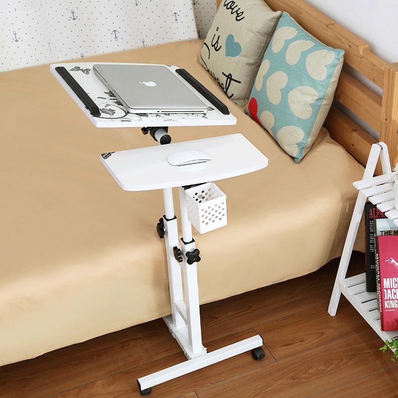 Rapture Lifting Mobile Computer Desk Bedside Sofa Bed Notebook Desktop Stand Table Learning Desk Folding Laptop Table Adjustable Table Office Furniture Furniture