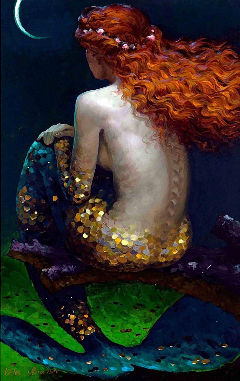 https://ae01.alicdn.com/kf/HTB1SA6LJVXXXXbTXpXXq6xXFXXXu/Mermaid-Lonely-Back-Shadow-moon-Home-Decoration-art-work-painting-Print-On-Canvas-unframed-Free-Shipping.jpg