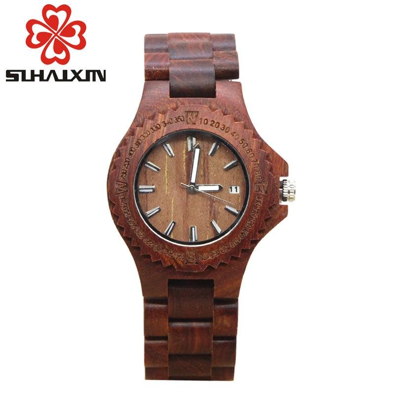 Wooden watches women quartz wristwatch smart fashion brand designer wood watch clock reloj mujer relogio feminino