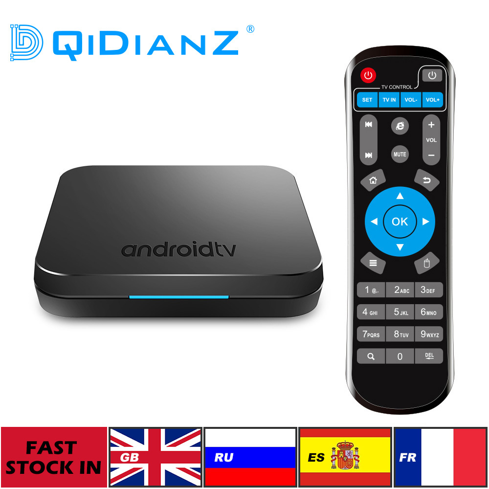 DQiDianZ KM9 Android 9 0 Amlogic S905X2 4GB 32GB SMART TV BOX update Bluetooth 4 1