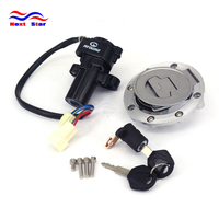 Motorcycle Ignition Switch Lock Set Gas Tank Cap Key Seat For YAMAHA YZF R6 YZFR6 2003 2004 2005 2003 2005