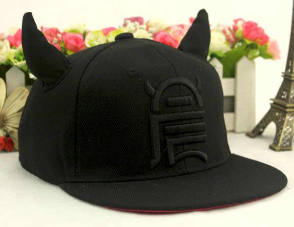 ... Fashion Bull Demon King Baseball Cap hip-hop Cap Adjustable Snapback  Hats for Kids ... 635fb5e82acf