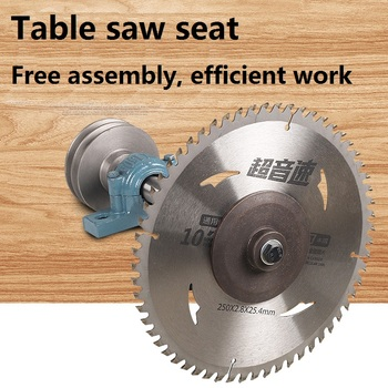 206 table saw spindles Woodworking machinery pushes 205 sets of saw parts, sawing machine bearing seat saw shaft surveillance camera