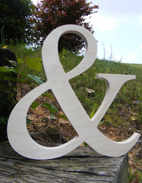 12 wooden letters ampersand photography unpainted diy wedding decor engagementwooden alphabet letters photography prop