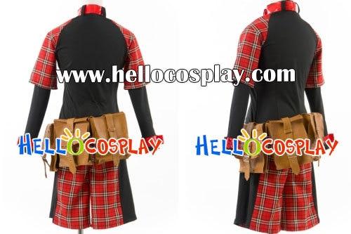 Togainu no Chi Cosplay Rin Costume H008