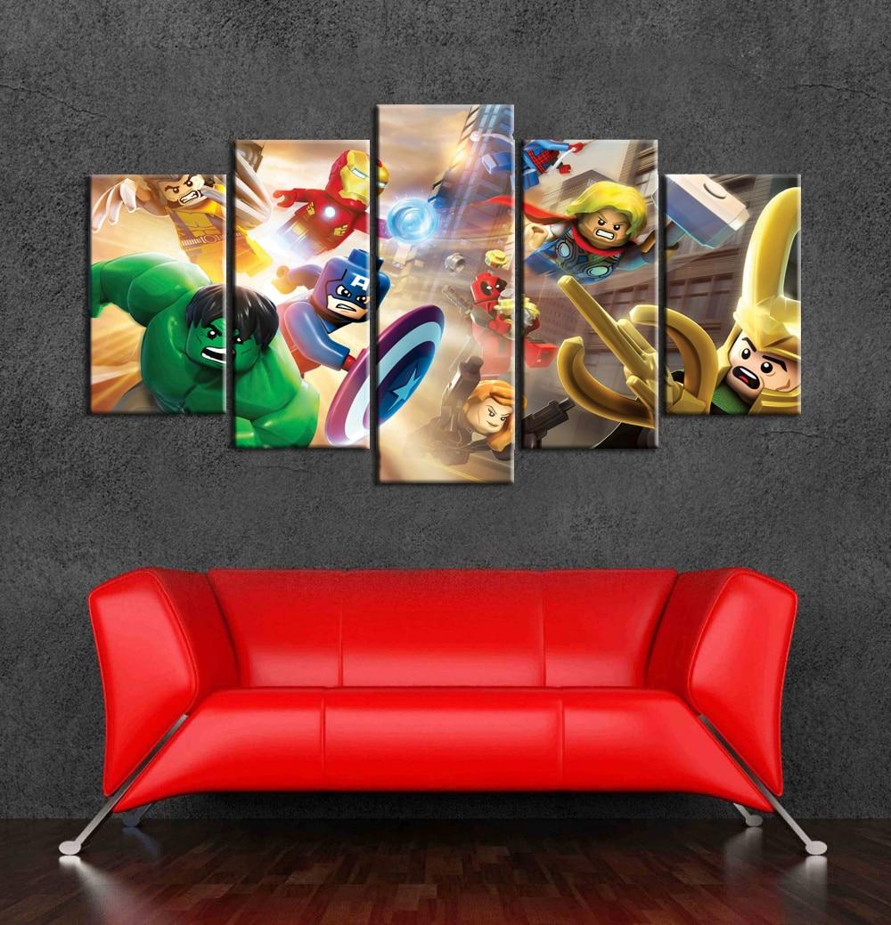 Marvel Wall Decor online buy wholesale marvel wall art from china marvel wall art