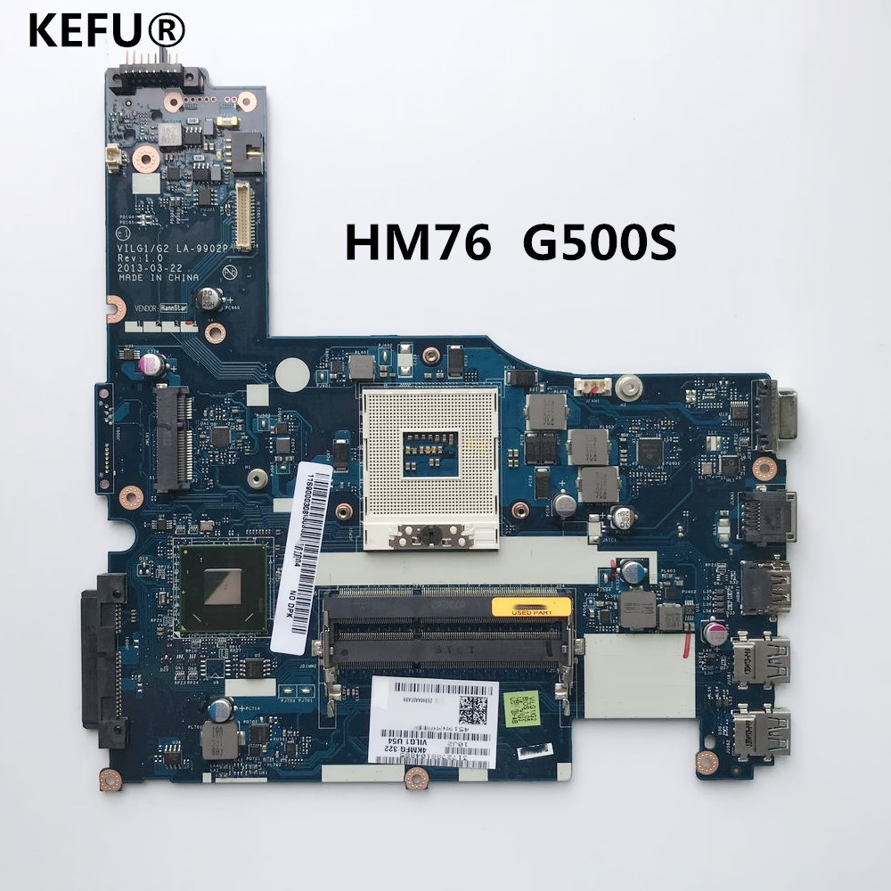 KEFU VILG1 G2 LA 9902P For Lenovo G500S motherboard DDR3 HM76 100 tested
