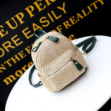 Осень 2017 г. Новинка зимы Лидер продаж модные женские туфли женские повседневные школьников на молнии простой мягкий соломы мини сумки рюкзаки