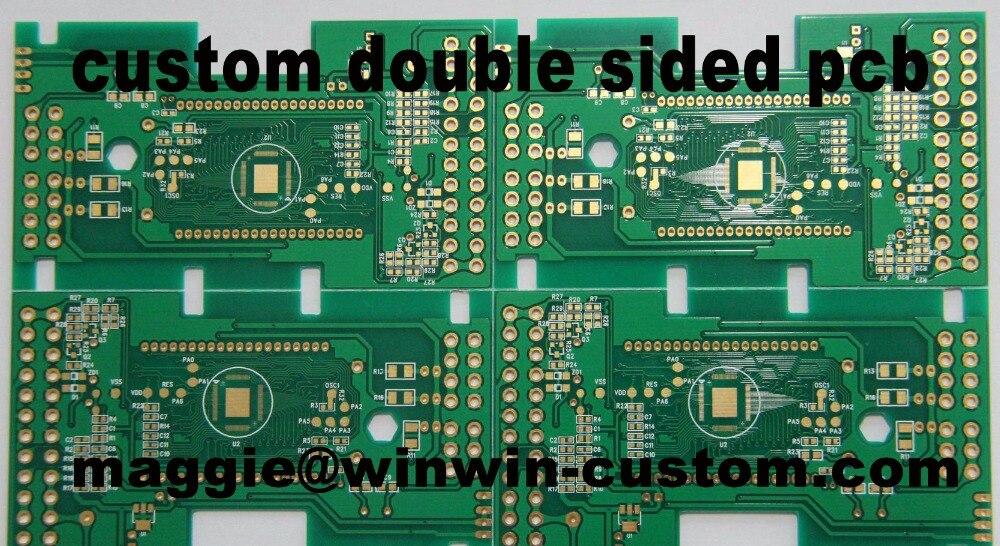 Kostenloser versand 1 stück benutzerdefinierte 2 schicht pcb service Beste doppelseitige prototyp pcb von PCB Herstellung