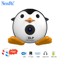 Ultramini DLP Projector Handheld LED WIFI Projector with Ezcast Support IOS/Android/Windows With 1500mah Battery