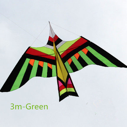 Free Shipping 2017 NEW 3m/5 Power Animal Kites/ Bird Kite With  Handle and Line Good Flying 2012 best butterfly kite summer toy kites delta kites 2 4 1m free shipping