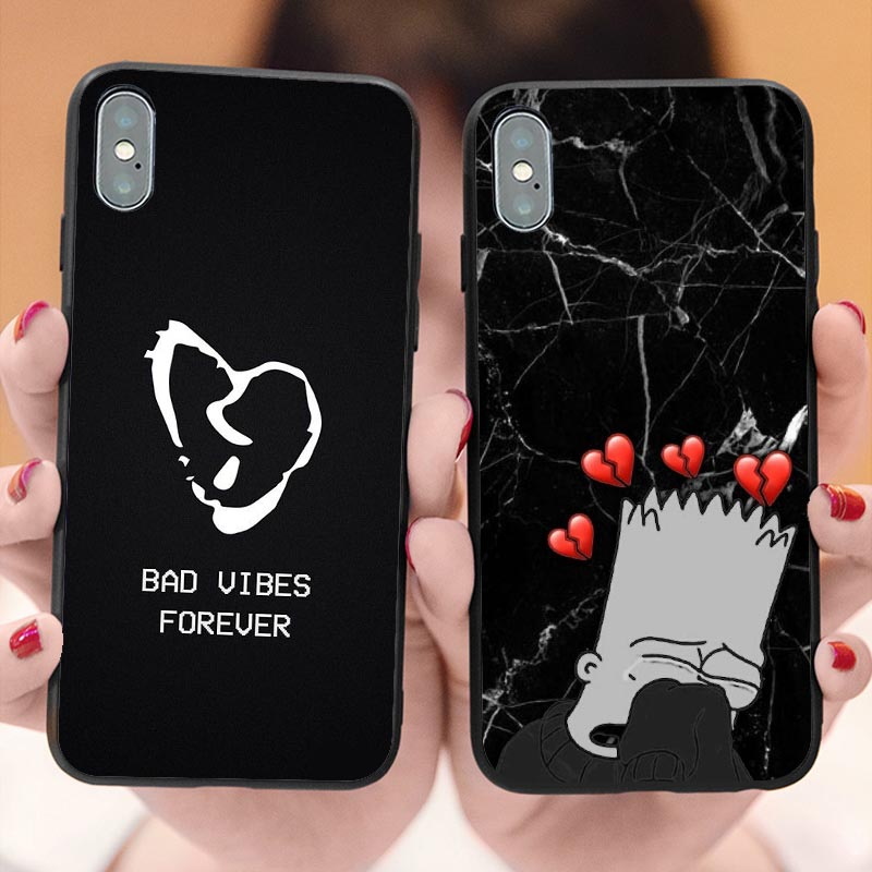 Lil Peep Cry Baby <font><b>XXXTENTACION</b></font> BAD VIBES FOREVER Tree of Life Cover Phone <font><b>Case</b></font> for <font><b>iPhone</b></font> X SE 5 5S 6 6SPlus <font><b>7</b></font> 8 Plus XR XS MAX image