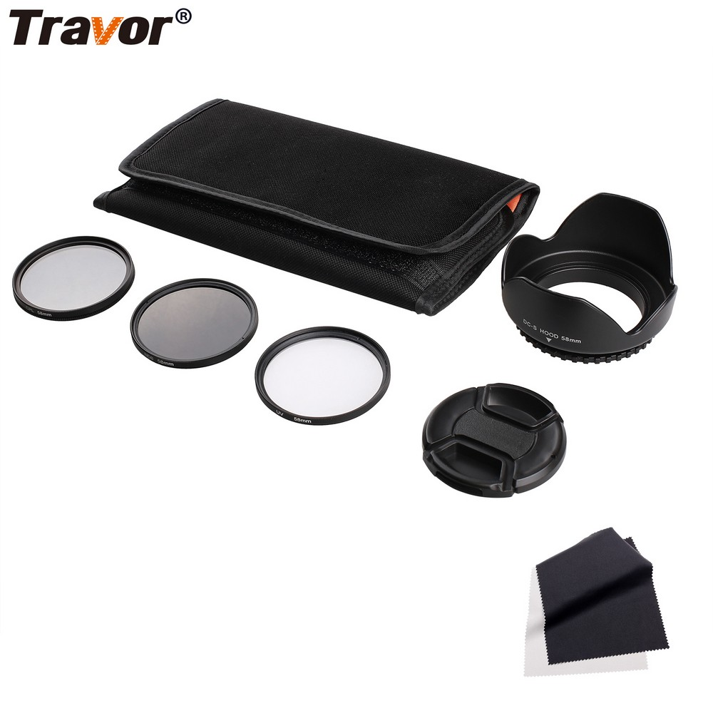 Professional 49MM 55MM 58MM 62MM 67MM 72MM 77MM ND CPL UV Camera Filter Kit For Pentax
