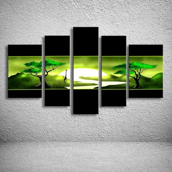 oil paintings hand painted painting on canvas home decoration Modern Landscape oil Painting wall AR-069