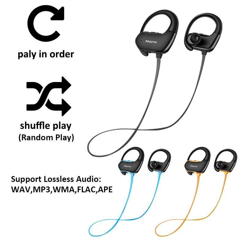 Achat Ralyin 8 Gb Lecteur Mp3 Bluetooth Casque Sport étanche Sans