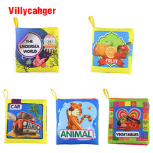 30 Set Cloth Book Learning Educational sets Coloring Animal Book For Baby 0-12 Months