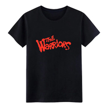 the warriors t shirt Printing cotton plus size 3xl homme Interesting Comical Summer Style Letters