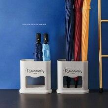 Стойка-стойка для зонта, одноцветная стойка-держатель для хранения зонта, для дома, прихожей, офиса, 4 отверстия, Прямая поставка