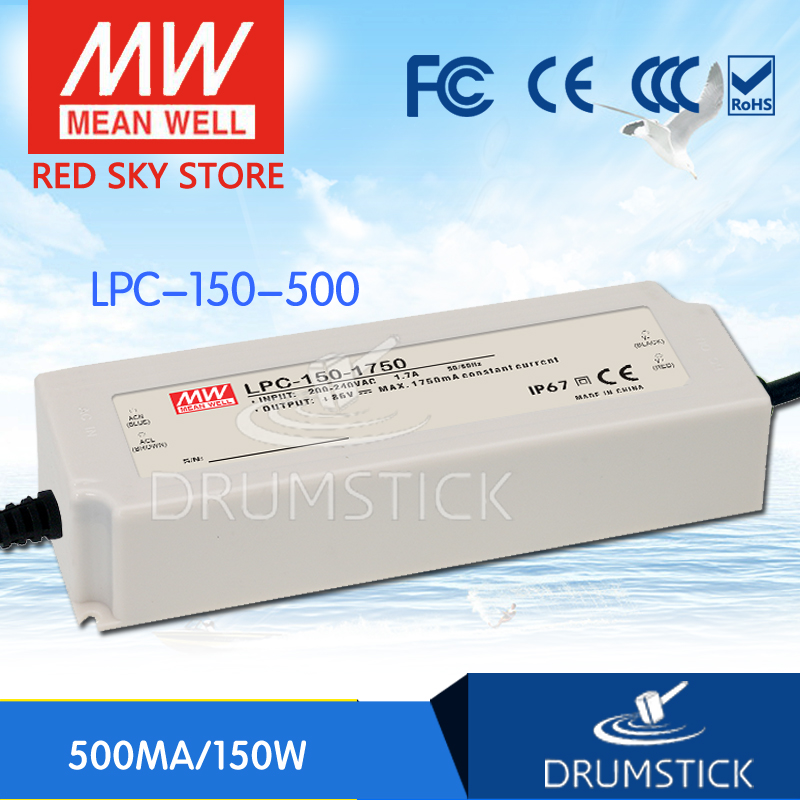 Hot sale MEAN WELL LPC-150-500 300V 500mA meanwell LPC-150 300V 150W Single Output LED Switching Power SupplyHot sale MEAN WELL LPC-150-500 300V 500mA meanwell LPC-150 300V 150W Single Output LED Switching Power Supply