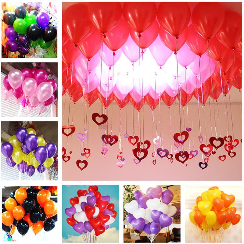 Pink Latex Pearl Balloons Party Decoration Ballon Latex Wedding Balloon Baby Shower Boy Inflatable Balls Foil Toys Marriage 5pcs
