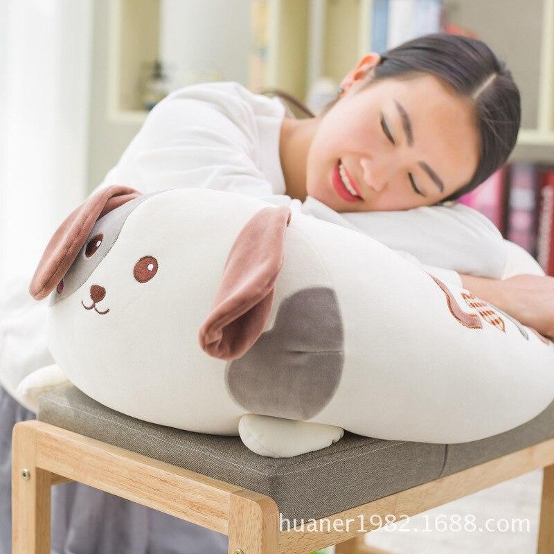 Mignon chien Husky pastorale chiens poupée doux oreiller en peluche jouet coussin oreiller cadeau d'anniversaire