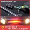White Red Blue 7color 147model 56cm 5050 48 LED RGB Knight Light Rider Scanner Car LED