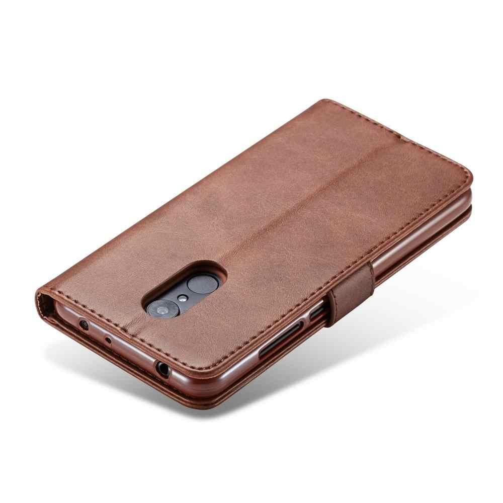 Роскошный кожаный флип-чехол для Xiaomi redmi 5 плюс Чехол redmi 5 Мягкий силиконовый чехол держатель для карт кошелек для redmi 5 плюс Coque Funda
