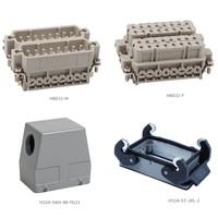 HA 032 32 Pins Multi Pins Screw Terminal Heavy Duty Connector Male Female Insert Hood Housing