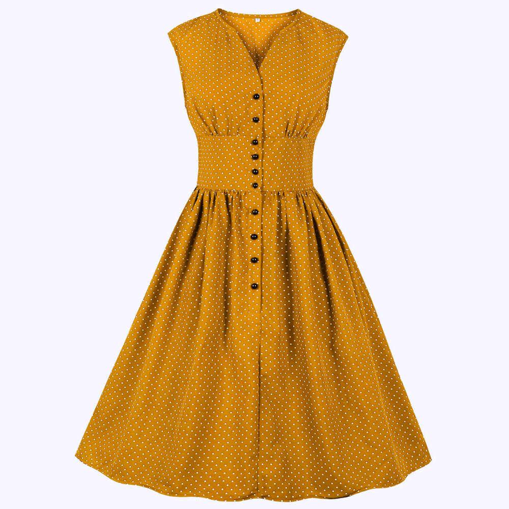 Joineles, 11 цветов, женское ретро платье, цветочный принт, 60 s, в стиле пин-ап, рокабилли, платье плюс размер 4XL, платье на пуговицах, вечерние платья, Vestidos De Festa