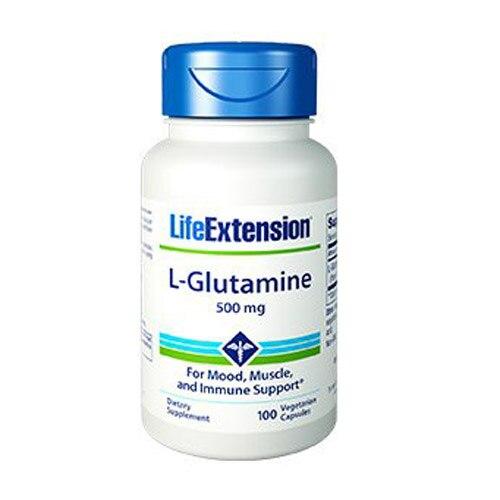 Free Shipping L Glutamine 500 mg 100 pcs