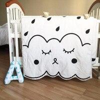 Muslin Tree Newborn Baby Blanket 100 Cotton White Bedding Cartoon Kids Summer Quilt Sofa Floor Playing