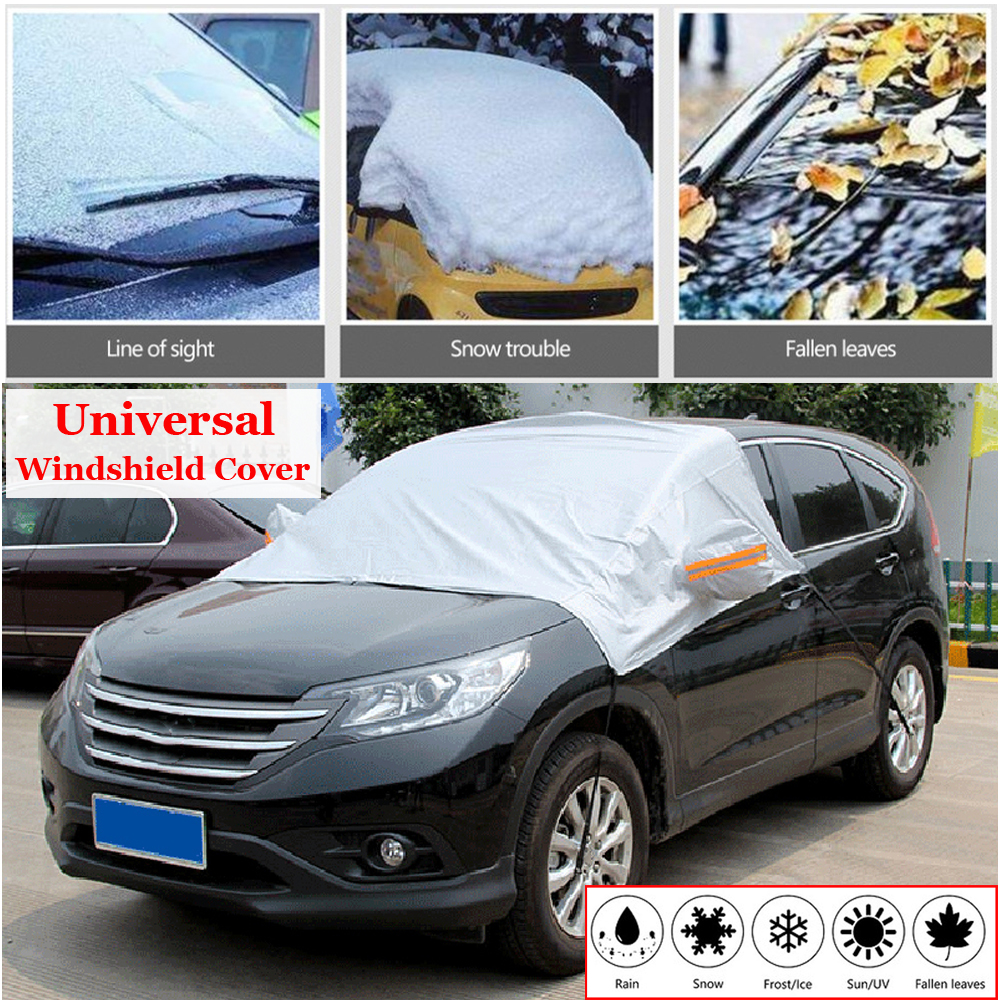 Winter Summer Car Windshield Cover Sun Shade Dust Snow Frost Freeze Protector 1X-in Side Window Sunshades from Automobiles & Motorcycles
