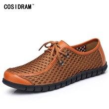 Maille Aboutissants Creux Hommes Casual Chaussures Nouveau 2017 D'été Respirant Chaussures Hommes Loisirs Chaussures Hommes Zapatos Hombre Mode RMC-783