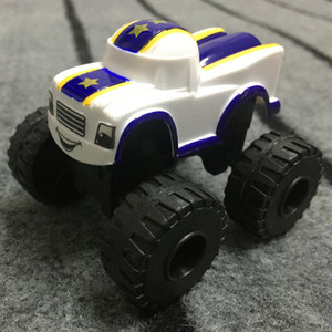 Image 5 - 6PCS צעצוע מרוצי מכוניות Blaze מפלצת Diecast צעצוע רוכב מכוניות משאיות פעולה איור OPP שקיות מתנת ילד