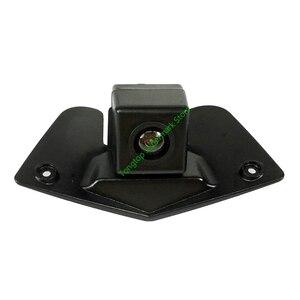 Image 2 - רחב זווית CCD HD רכב לוגו סימן מצלמה עבור בנץ מרצדס ויטו ויאנה לABCESM G GL SLK GLK SL R GLA ראיית לילה