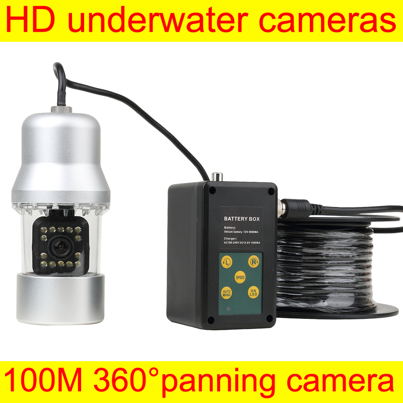 Fish Finder Camera HD Underwater Video Fishing Camera System Kit 100M HD SONGY Monitor Night Vision Boat Fishing  ennio sy7000d 15m ip68 hd underwater video camera system