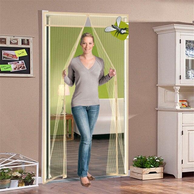 90x210cm Summer Tulle Bedroom Door Window Screen Perspective ...